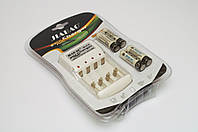 4 шт аккумуляторы Jiabao  AA + зарядное устройство Jiabao JB-212