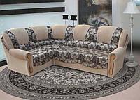"""Угловой диван """"Лорд"""" с классическим дизайном и механизмом трансформации """"дельфин"""". Производитель «Вико»"""