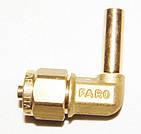 Соединитель угловой для термопластиковой трубки Faro D8