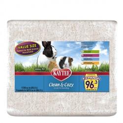Kaytee Clean&Cozy White Клин&Кози ЧИСТО&УЮТНО БЕЛЫЙ подстилка для грызунов, целлюлоза 28,3л