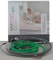 Теплый пол Gray Hot (Грейхот) 15-92 Вт, 6 м  (нагревательный кабель)