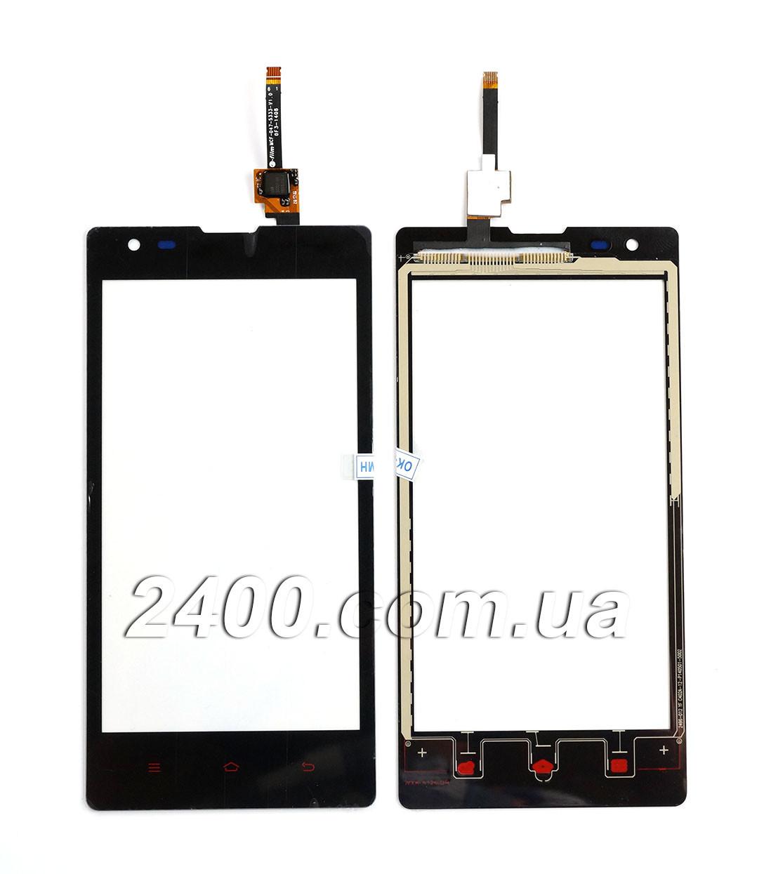 Тачскрин (сенсор) Xiaomi Redmi 1S телефона черный (black)