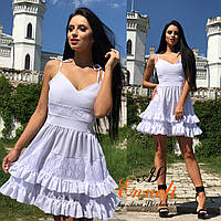 Платье им Enneli. Размер S M Ткань гипюр + софт.(17001)