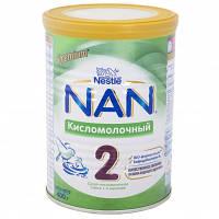 Смесь Nestle Кисломолочный 2 с 6 месяцев 400 г NAN 1000010