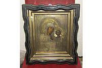 Старинная икона Казанской Богородицы