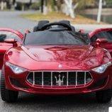 Детский электромобиль 8808P Maserati Цвет вишневый крашеный
