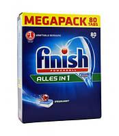 Таблетки для посудомоечной машины - Finish Powerball Alles in 1 80шт (Оригинал)