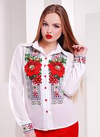 Красивая блуза с ярким принтом , фото 1
