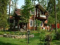Дом 200 м2 из профилированного бруса с участком у леса