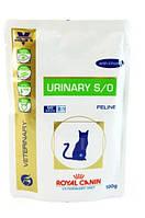 Royal Canin Urinary Feline 100 г с курицей заболевания дистального отдела мочевыделительной системы