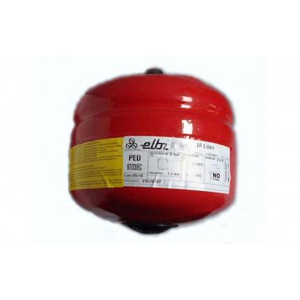 Бак расширительный круглый ELBI ER-5 5 л (Италия), фото 2