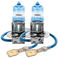 Галогеновые лампы Brevia H3 Max Power + 100% 12V 55W