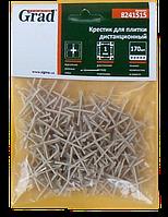 Хрестики для плитки 1,0 мм (170 шт)
