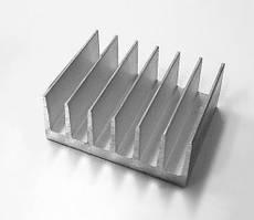 Радіаторний алюмінієвий профіль охолодження