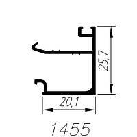 АЛЮМИНИЕВЫЙ ПРОФИЛЬ SARAY ШТАПИК СТАРАЯ БРОНЗА L=3М (1455)