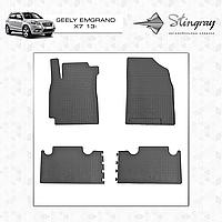 Автомобильные коврики Stingray Geely Emgrand X7 2012-