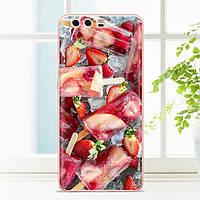Чехол накладка для Huawei P10 Lite силиконовый, Фруктовый лед