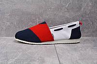 Мужская обувь Toms Red/Blue/White