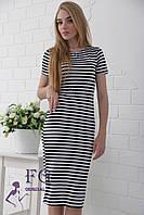 """Платье тельняшка """"Stella"""" - 48 и 50 размеры, фото 1"""