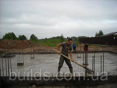 Заливка фундаментных плит, фото 2