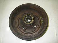 Барабан тормозной задний всборе правый Micra (K12) 02-11 (Ниссан Микра К12)  (Оригинальный № 43206AX650)
