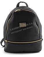 Небольшой стильный оригинальный женский рюкзачок сумочка с качественной кожи PU  art. VIVA 02 темно синий