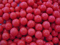 Посыпка шарики Красные 7 мм,  50 грамм