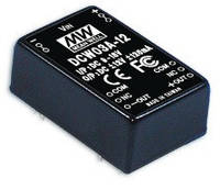 DCW03A-12 Блок питания Mean Well LED  9 ~ 18VDC, 338mA (DC-DC преобразователь)