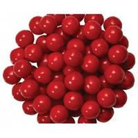 Посыпка шарики Насыщенно Красные 4 мм,  50 грамм