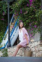 Пляжная туника Barine - White Kimono Red красная