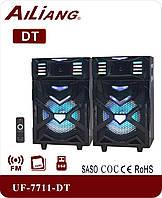 Активная акустика UF-7711-DT 180W (USB/Bluetooth/Пульт ДУ)