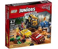 """LEGO® Juniors  Гонка """"Сумасшедшая восьмерка"""" 10744"""