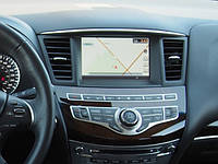 Штатное головное устройство с GPS навигацией для Infiniti QX-series (QX60/QX70) - Мультимедийная система 08IT