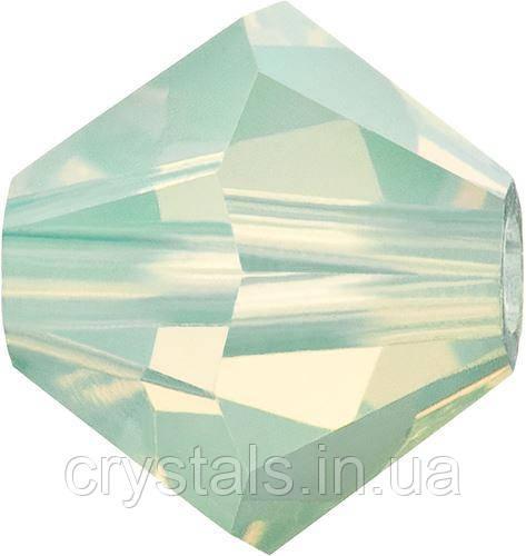Хрустальные биконусы Preciosa (Чехия) 5 мм Chrysolite Opal