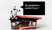 Ящик Star Wars для хранения игрушек 10 литра Keeeper