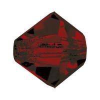 Хрустальные биконусы Preciosa (Чехия) 5 мм Garnet 2-й сорт