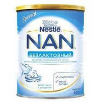 Смесь молочная безлактозный Nestle 400 г  NAN 1000204