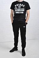 Летний комплект Adidas Originals черный