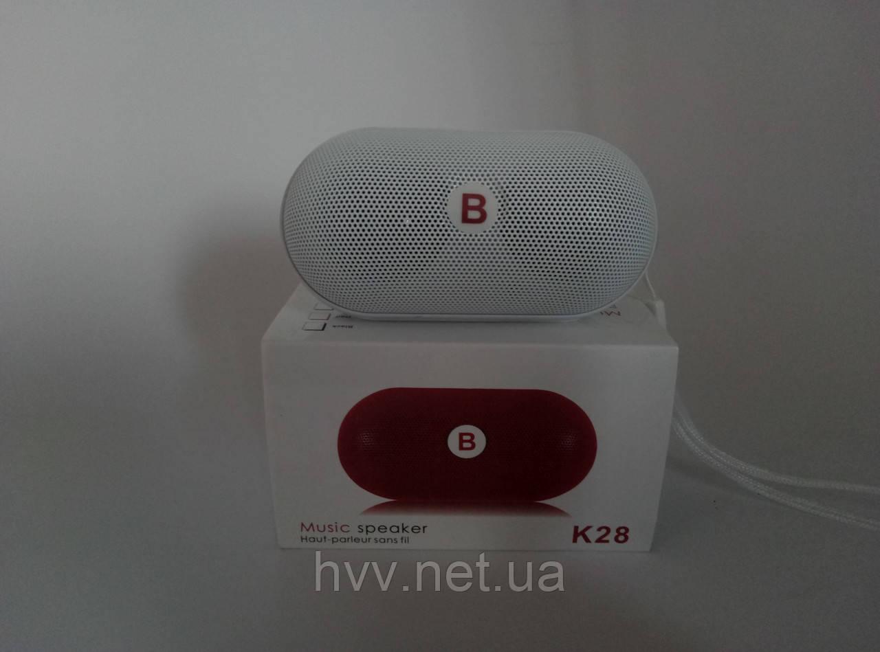 Bluetooth миниколонка Musik K-28