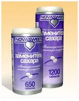 Заменитель сахара (подсластитель) НоваСвит 0,06г №1200таб