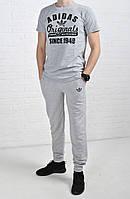 Летний комплект Adidas Originals серый