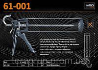 Пистолет для герметиков 240мм., NEO 61-001