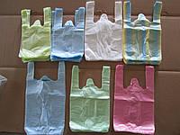 Полиэтиленовые пакеты майка в ассортименте