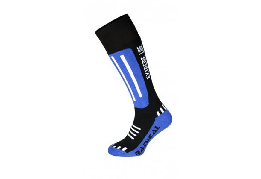 Лыжные детские носки Rough Radical Extreme Line (original), зимние термоноски, для сноуборда, высокие SportLavka