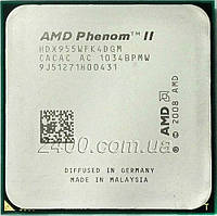 Процессор AMD Phenom II X4 955 3.2GHz 2000MHz (HDX955WFK4DGM) Socket AM2+/AM3 95W