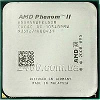 Процесор AMD Phenom II X4 955 3.2 GHz 2000MHz (HDX955WFK4DGM) Socket AM2+/AM3 95W