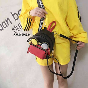 Женский рюкзак очки , фото 2