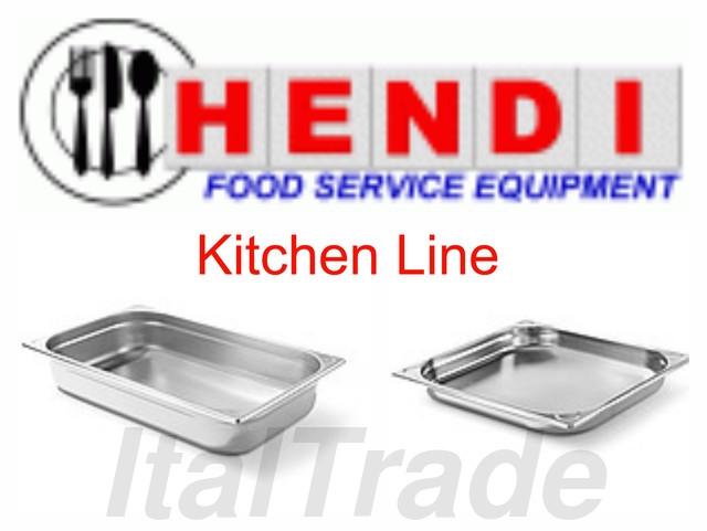 Гастроемкости из нержавеющей стали Hendi Kitchen Line (Нидерланды)