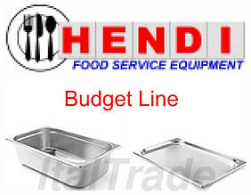 Гастроемкости из нержавеющей стали Hendi Budget Line (Нидерланды)