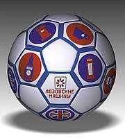 Брендирование футбольных мячей